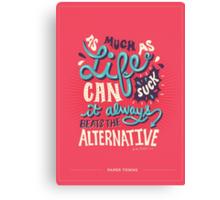 Paper Towns: It Beats The Alternative Canvas Print