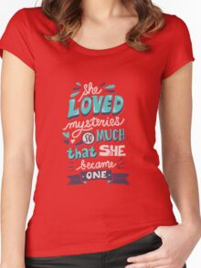 Paper Towns: Mysteries Women's Fitted Scoop T-Shirt