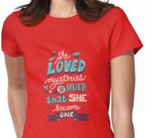Paper Towns: Mysteries Womens Fitted T-Shirt