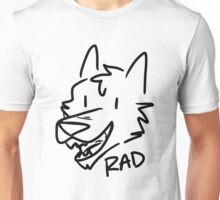 Rad Sketch Dog Unisex T-Shirt