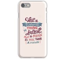 Paper Towns: Treacherous Thing iPhone Case/Skin