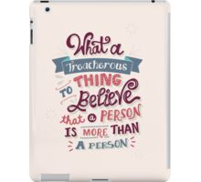 Paper Towns: Treacherous Thing iPad Case/Skin