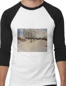 Snow In Solbrinken Men's Baseball ¾ T-Shirt