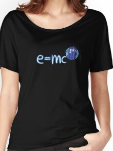 Whovian T-Shirt: Relativity of Space and Time Women's Relaxed Fit T-Shirt