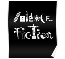 Science Fiction T-shirt Poster