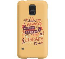 Library Samsung Galaxy Case/Skin