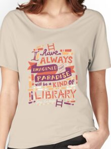 Library Women's Relaxed Fit T-Shirt