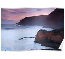 Maingon Bay at dusk Poster