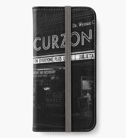 """""""Bright light bright city"""" (Monologue)  iPhone Wallet/Case/Skin"""