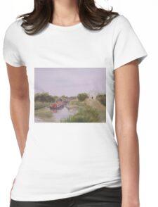 Slapton Lock Womens Fitted T-Shirt