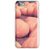 Pumpkins 20 iPhone Case/Skin
