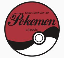 Pokeball Classic in Black by morales138