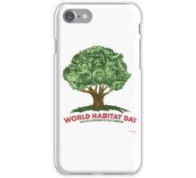 World Habitat Day iPhone Case/Skin