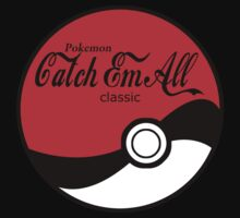 Catch Em All Ball in Black by morales138