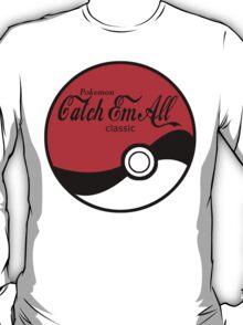 Catch Em All Ball in Black T-Shirt