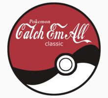 Catch Em All Ball in White Kids Clothes