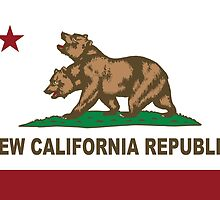 New California Republic Flag Original  by NorCal