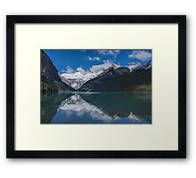 Reflections in Lake Louise, Alberta, Canada Framed Print