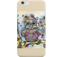 Rainbow of Peace Owl iPhone Case/Skin