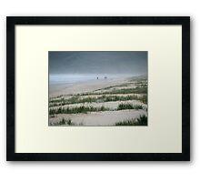 dune runners Framed Print