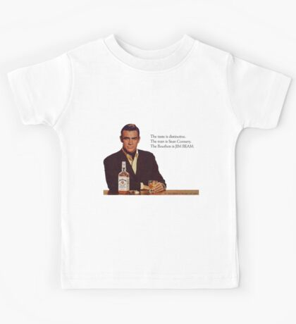 The Bourbon of Sean Connery Kids Tee