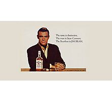 The Bourbon of Sean Connery Photographic Print