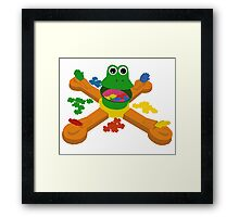 Mr. Mouth- 90s Nostalgia Framed Print