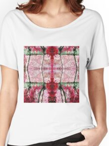 Autumn color red grape Women's Relaxed Fit T-Shirt