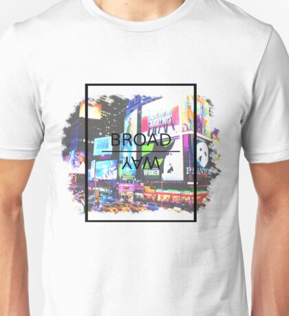 Broadway Aesthetic Unisex T-Shirt