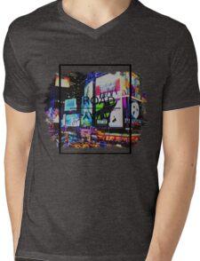 Broadway Aesthetic Mens V-Neck T-Shirt