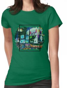 Broadway Aesthetic Womens Fitted T-Shirt