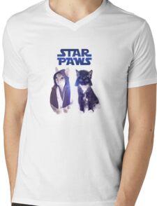 Star Wars Cats Mens V-Neck T-Shirt