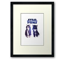 Star Wars Cats Framed Print