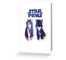 Star Wars Cats Greeting Card