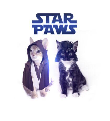 Star Wars Cats Sticker