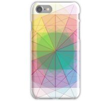 Sacred Geometry cubed orb iPhone Case/Skin