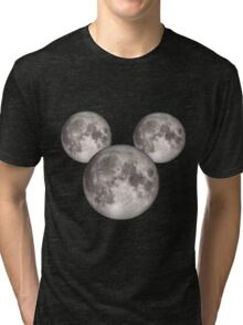 Mickey Moon BIG (see also: small) Tri-blend T-Shirt
