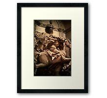 Death - the Maiden, Cimitero Monumentale di Staglieno, Genoa, Italy Framed Print