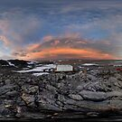 Pensive Skies, Cape Dension, Antarctica by Peter Morse
