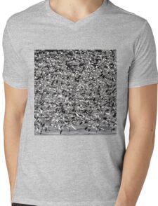 Snowstorm Mens V-Neck T-Shirt