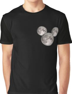 Mickey Moon small (see also: BIG) Graphic T-Shirt