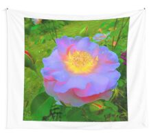 Funky Rose Violet & Pink Wall Tapestry