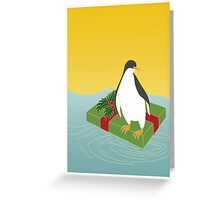 Penguin Pressie Greeting Card