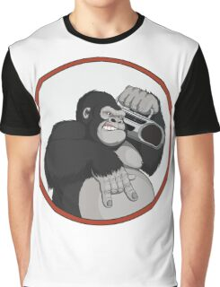 Gorilla Music Graphic T-Shirt