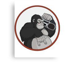 Gorilla Music Canvas Print