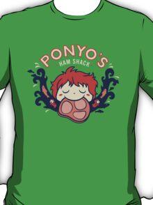 Ponyo's Ham Shack T-Shirt