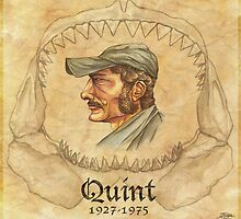 Quint- Captain of the Orca by Iantel1138