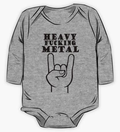 Heavy Metal One Piece - Long Sleeve