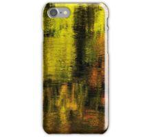 Gold on Rhone river iPhone Case/Skin