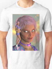 Madrah-Nebula-Portrait-2 Unisex T-Shirt